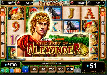 slot The story of alexander