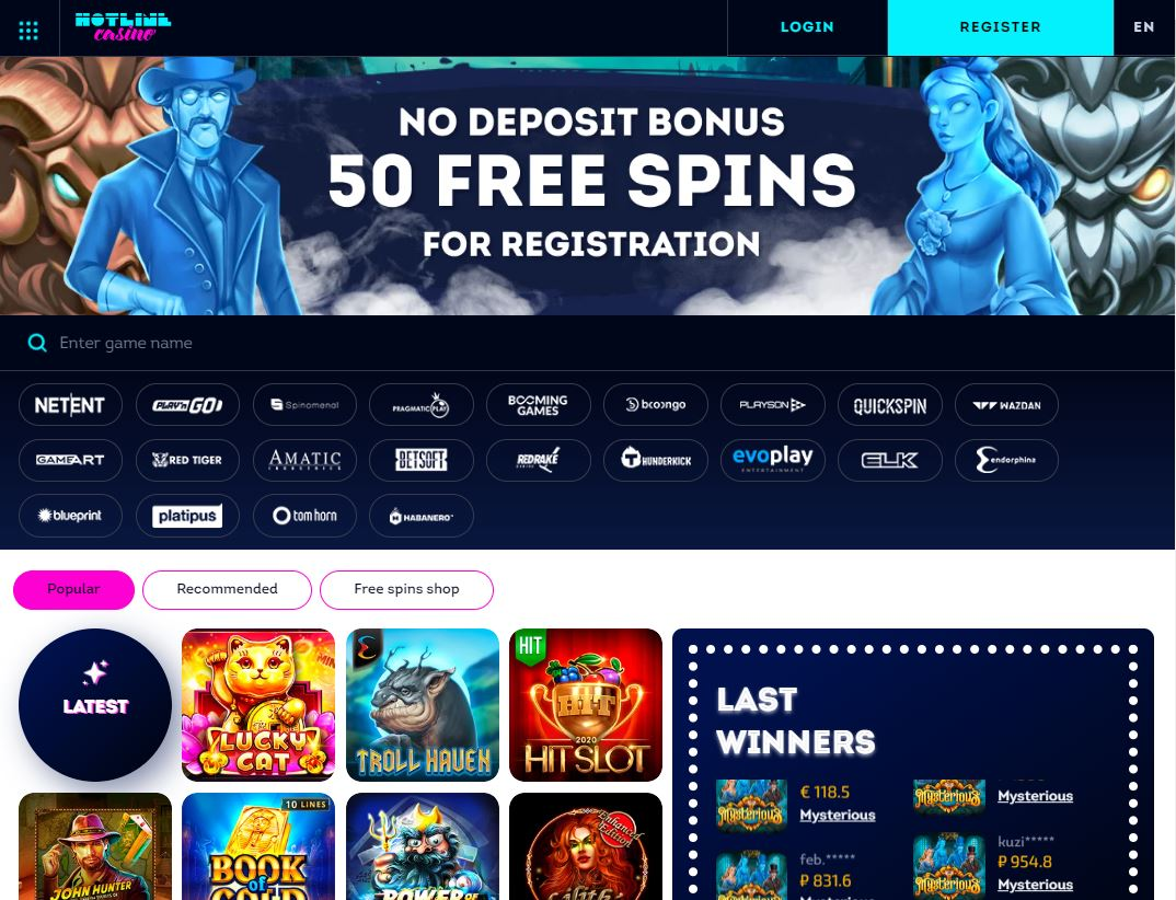 Official Website Hotline Casino